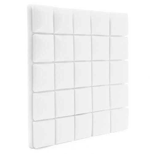 5Pcs 50x50x5cm Black/Grey/White Soundproof Sponge Foam Anti Sound for KTV Studio