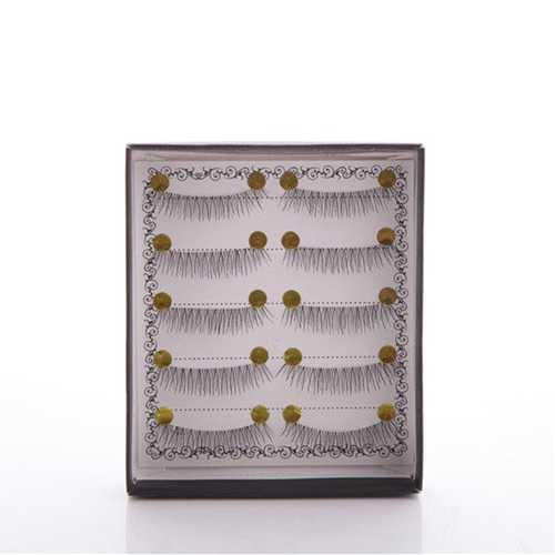 5 Pairs/Set Handmade False Eyelashes