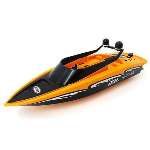 Flytec 3323 2.4G 2CH Mini Racing RC Boat Sightseeing Speedboat With Double Propellers Toys