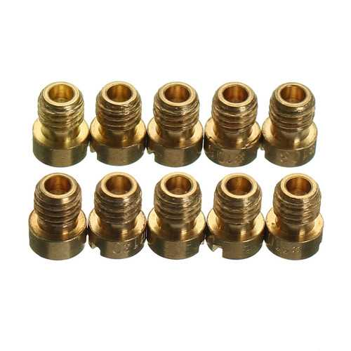 10pcs Carburetors Carb Slow Pilot Running Jet Nozzle For Keihin CVK 100#-140#