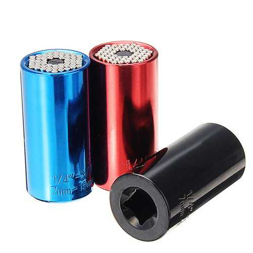 7-19mm Socket Adapter With 3/8 to 1/4 Inch Power Drill Adapter