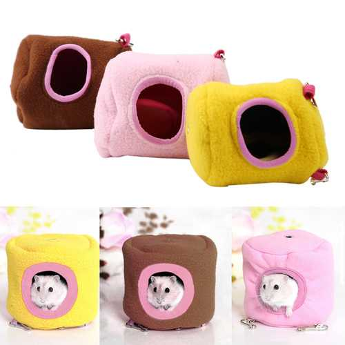Pet Hanging House Hammock Small Animals Cotton Hamster Cage Sleeping Nest Pet Bed Cage Pet Toys