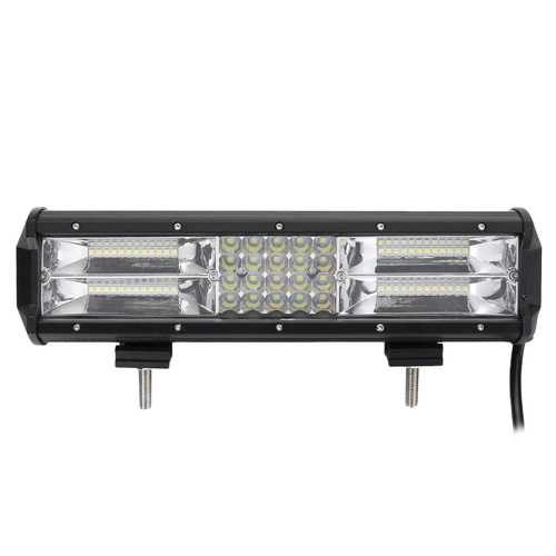 12inch 3030 568led DC10-30V 840W 130200LM 6000K Combo Headlight Quad Row Work Light