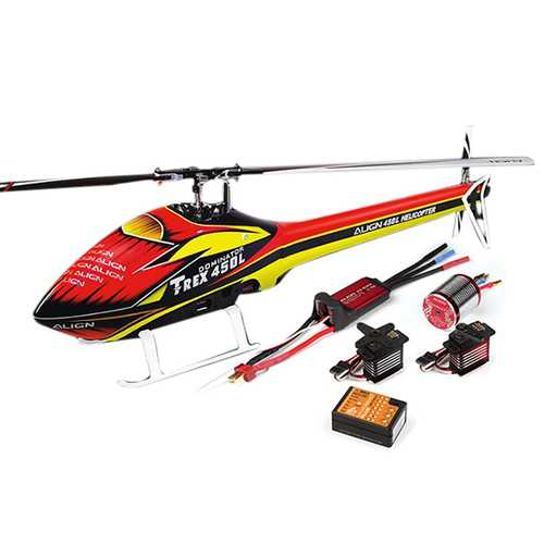 Align T-REX 450L RC Helicopter Dominator Super Combo
