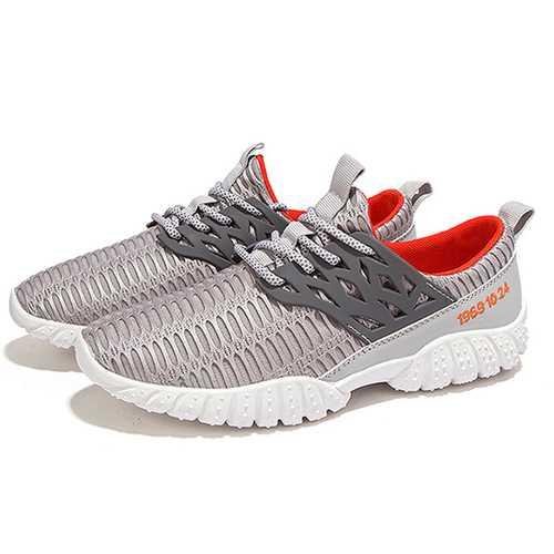 Men Breathable Comfy Mesh Sports Athletic Shoes