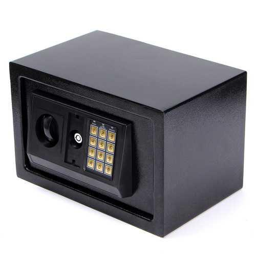 Digital Electronic Safe Box Keypad Lock Wall Security Cash Jewelry Box Hotel Cabinet