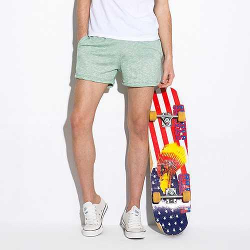 Summer Mens Bodybuilding Shorts Pants