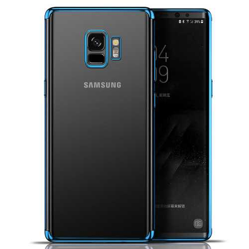 Bakeey Plating Clear Transparent Soft TPU Case For Samsung Galaxy S9