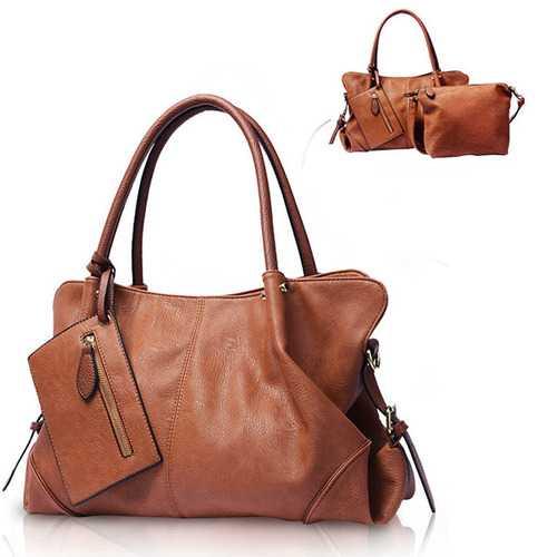 Women Picture Package 3 Pieces  Shoulder Bag Handbag