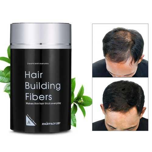 DEXE Hair Building Fibers Black Makes Hair Thick