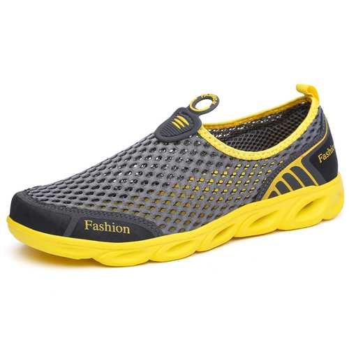 Men Comfy Breathable Mesh Sneakers Sports Shoes
