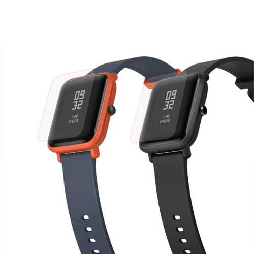Mijobs PET Screen Protective Protector Film for Amazfit Youth Version Smart Watch Band