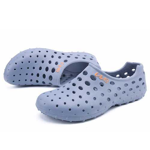 Comfy Men Hollow Outs Sandals Beach Shoes Rainy Days Shoes