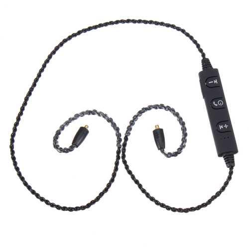 MMCX Plug Upgrade Bluetooth Earphone Cable Cord CSR4.1 For Shure SE215 SE535 UE900