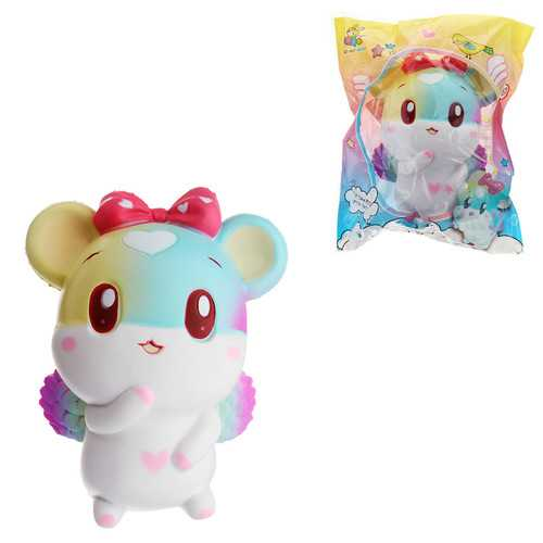 Taburasaa Mouse Squishy 12.5*15cm Slow Rising With Packaging Collection Gift Soft Toy