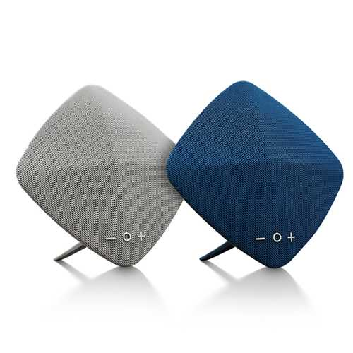 ROCK SPACE Muse HiFi V4.2 Fabric bluetooth Speaker With Mic Hands-free Call TF Card AUX U Disk