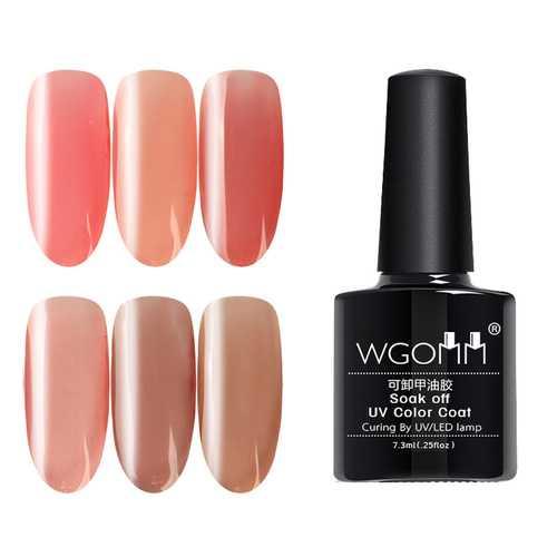 Pink Series UV Nail Gel Polish
