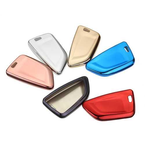 TPU Soft Remote Smart Car Key Case/bag Cover Shell for BMW X1 X5 X6 530i 740i Series