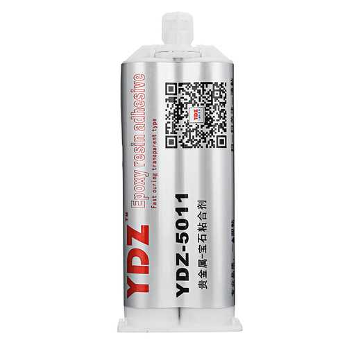YDZ-5011 50ML Transparent Waterproof Leakproof Adhesive Epoxy Glue for Jewellery Decoration