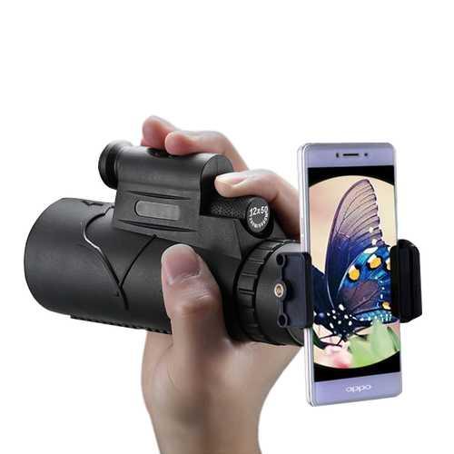 4 in 1 Multi-purposr 12X Telescope Laser Pointer Monocular Telescope for Mobile Phone