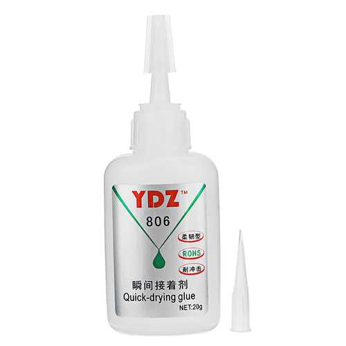 YDZ-901 20g High-Strength Glue High - Viscosity Adhesive for PC/PVC Material