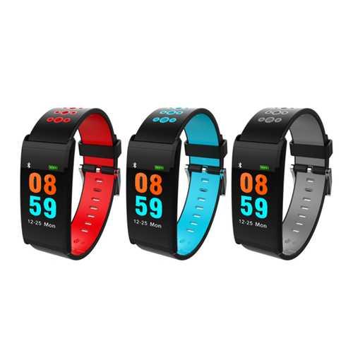 Bakeey X20 0.96inch IP68 Waterproof Blood Pressure Heart Rate Monitor bluetooth Smart Wristband