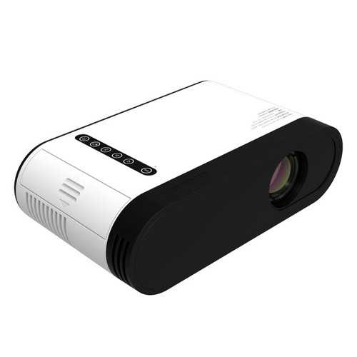 C1 Full HD 1080P 30ANSI Lumens 480x320P Smart Projector Office TV Home Theater With Remote Control