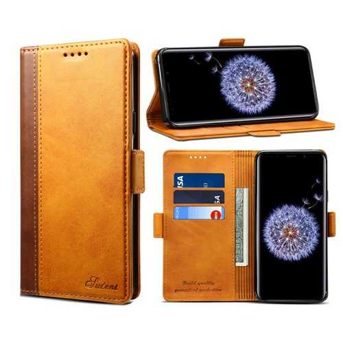 Bakeey Hybrid Color Wallet Card Sots Kickstand Phone Case For Samsung Galaxy S9