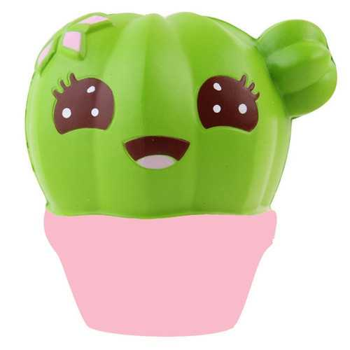 10CM Scented Squishy Potted Cactus Slow Rising Soft Stress Relief Kawaii Fun Toy