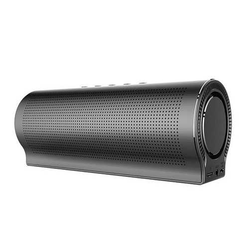 PN-13 Dual Drivers Stereo Bass bluetooth Speaker With Mic TF Card AUX Hands-free Noise Cancelling