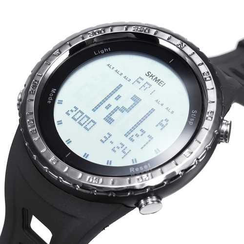 Bakeey LED Waterproof Digital Quartz SKMEI Fashion Watch Military Sport Men Smart Watch