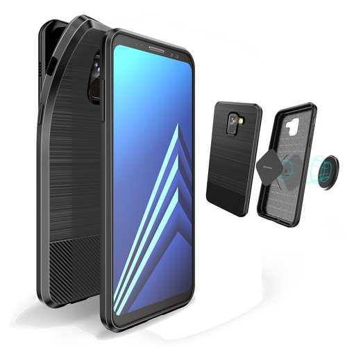 DUX DUCIS Magnetic Soft TPU Protective Case for Samsung Galaxy A8 2018