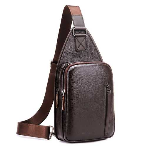 Large Capacity Business Casual Chest Bag  Crossbody Bag
