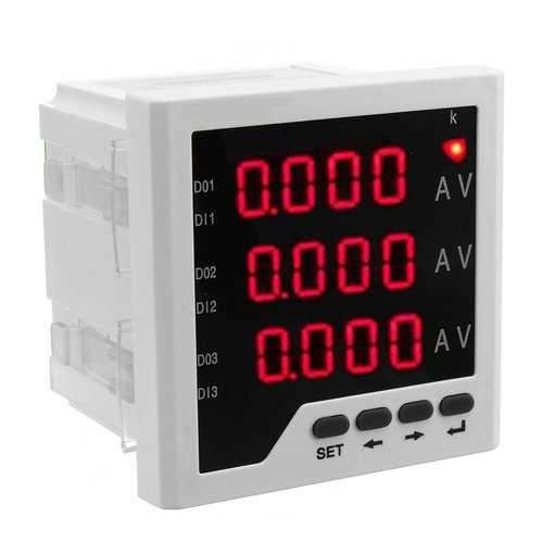 ZM194-IU93 Digital Display Three-phase Digital Multimeter Voltmeter Ammeter