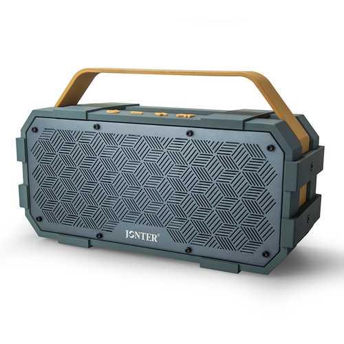 JONTER M90 20W Double Units Wireless Bluetooth Speaker 4000mAh IPX5 Waterproof Outdoors Bass Speaker