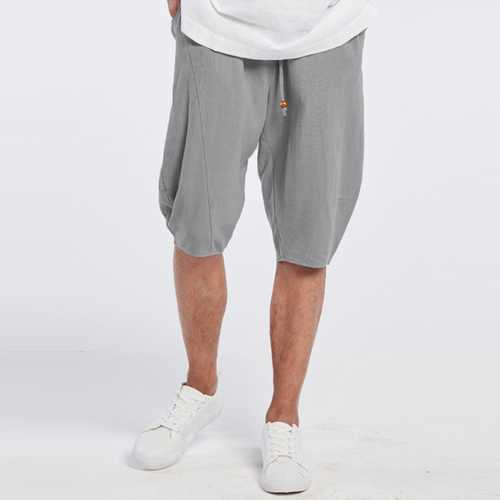 Men's Breathable Cotton Loose Shorts