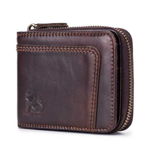 13 Card Slots RFID Blocking Secure Leather Wallet