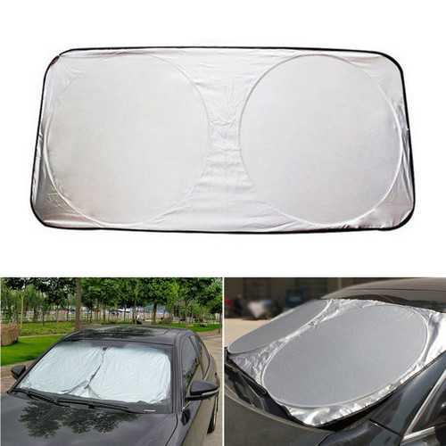 150x80cm Foldable Car Front Windshield Cover Sunshade Visor UV Protection Shield Cover