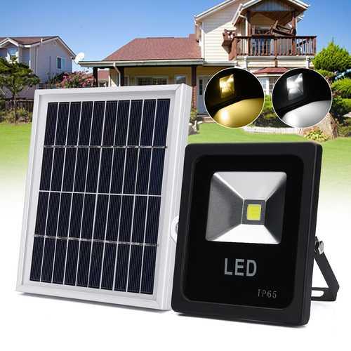 10W Solar LED Radar Induction Lamp Outdoor Lawn Garden Wall Light Landscape Lantern With Box