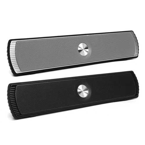 D007 Colorful Light Wireless Stereo Bluetooth Speaker Soundbar With Mic TF Card AUX