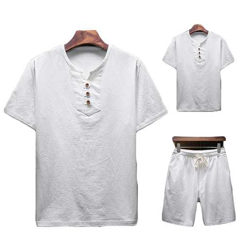 Men's Two-piece Suits Short-sleeved T-Shirts