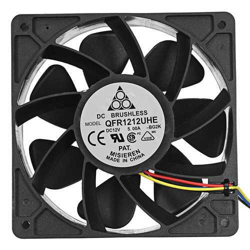 120mm 4Pin DC 12V 7500RPM Two Ball Bearing CPU PC Cooler Cooling Fan Heat Dissipation