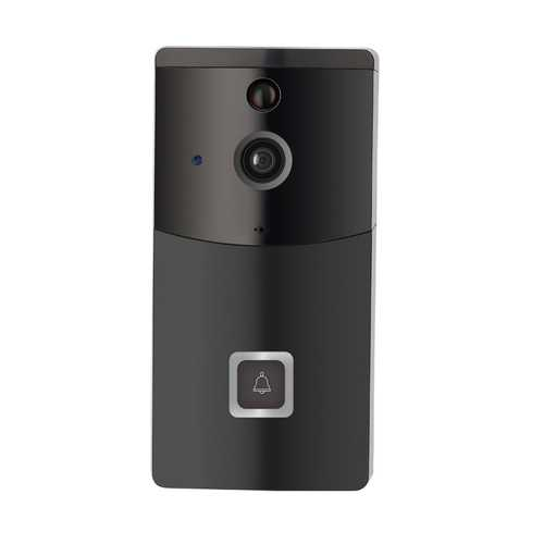 B10 2.4GHz Black Waterproof WIFI 720P Lower-Consumption Video Doorbell With Two Way Audio