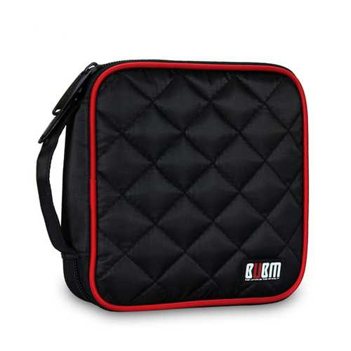 BUBM Y32E 32Pcs Disc Protective Storage Bag Wallet for DVD CD Disc