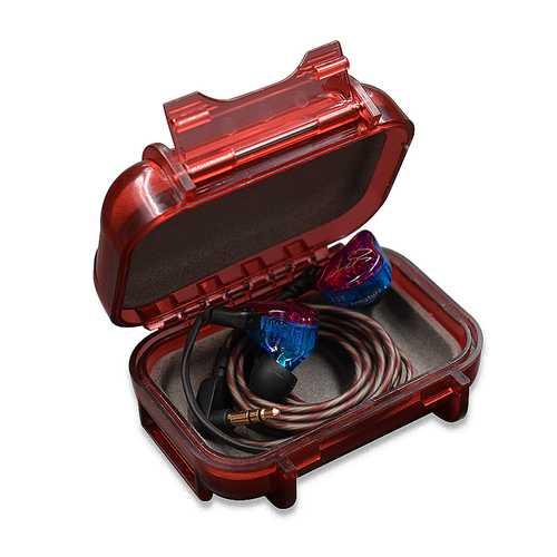 KZ ABS Resin Earphone Bag Portable Shockproof Waterproof Headphone Headset Box Storage Bag