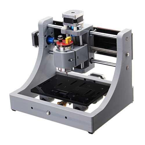 1208 3 Axis Mini Assembled CNC Router Wood PCB Milling Engraving Machine DIY Engraver 120x80x16mm