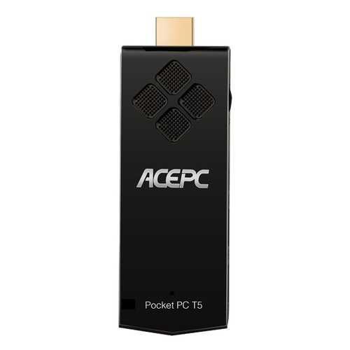ACEPC T5 Z8350 2GB RAM 32GB ROM 2.4G WIFI bluetooth 4.0 USB 3.0 H.265 TV Box Support Windows 10
