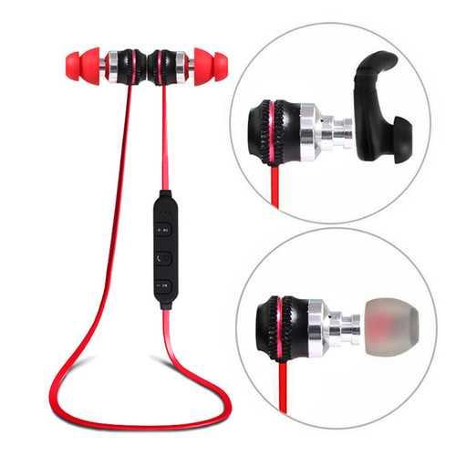 Caldecott BT-KDK03 Wireless bluetooth Earphone Magnetic Adsorption Noise Cancelling Stereo Headphone