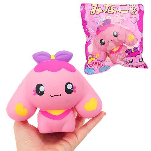 Butterfly Dog Squishy 15*13CM Slow Rising With Packaging Collection Gift Soft Toy