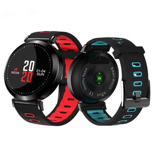 Bakeey M10 0.96inch Blood Pressure Oxygen Heart Rate Monitor Fitness Tracker Sport Smart Wristband